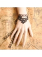 Sweet Brown Lace Lolita Bracelet