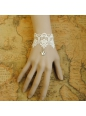Sweet White Lace Crown Lolita Bracelet