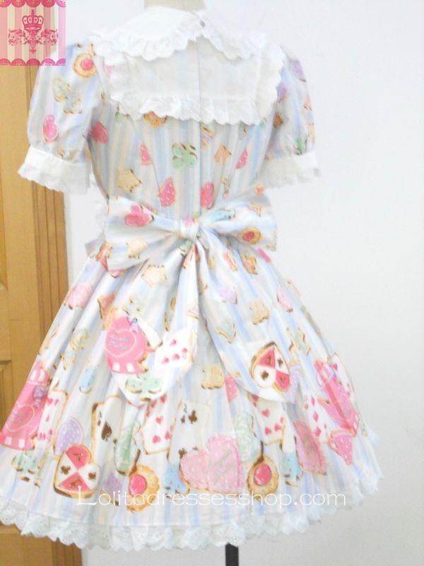 9e9ada77bba Cheap Dream of Lolita Wonder Cookie Dress Sale At Lolita Dresses ...