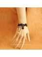 Black Sweet Lace Lolita Bracelet