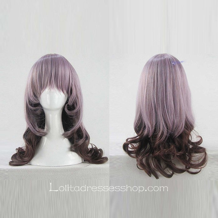 Lolita Curly Wig by Dreamful Purple 55cm