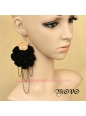 Lolita Generous Fashion Flower Tassels Nightclub Earring