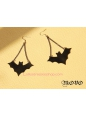 Lolita Original Retro Gothic Bat Earring