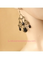 Lolita Dark Queen Gothic Retro Nightclub Earring