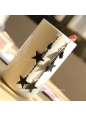 Lolita Black Star Fashion Wild Earring