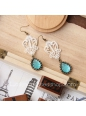 Lolita Lovely Handmade Lace Retro Gem Fashion Earring