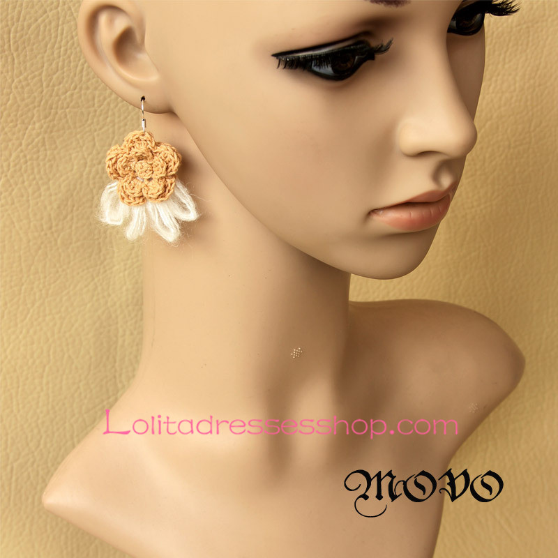 Lolita Sweety Lovely Little Freshness Flower Earring