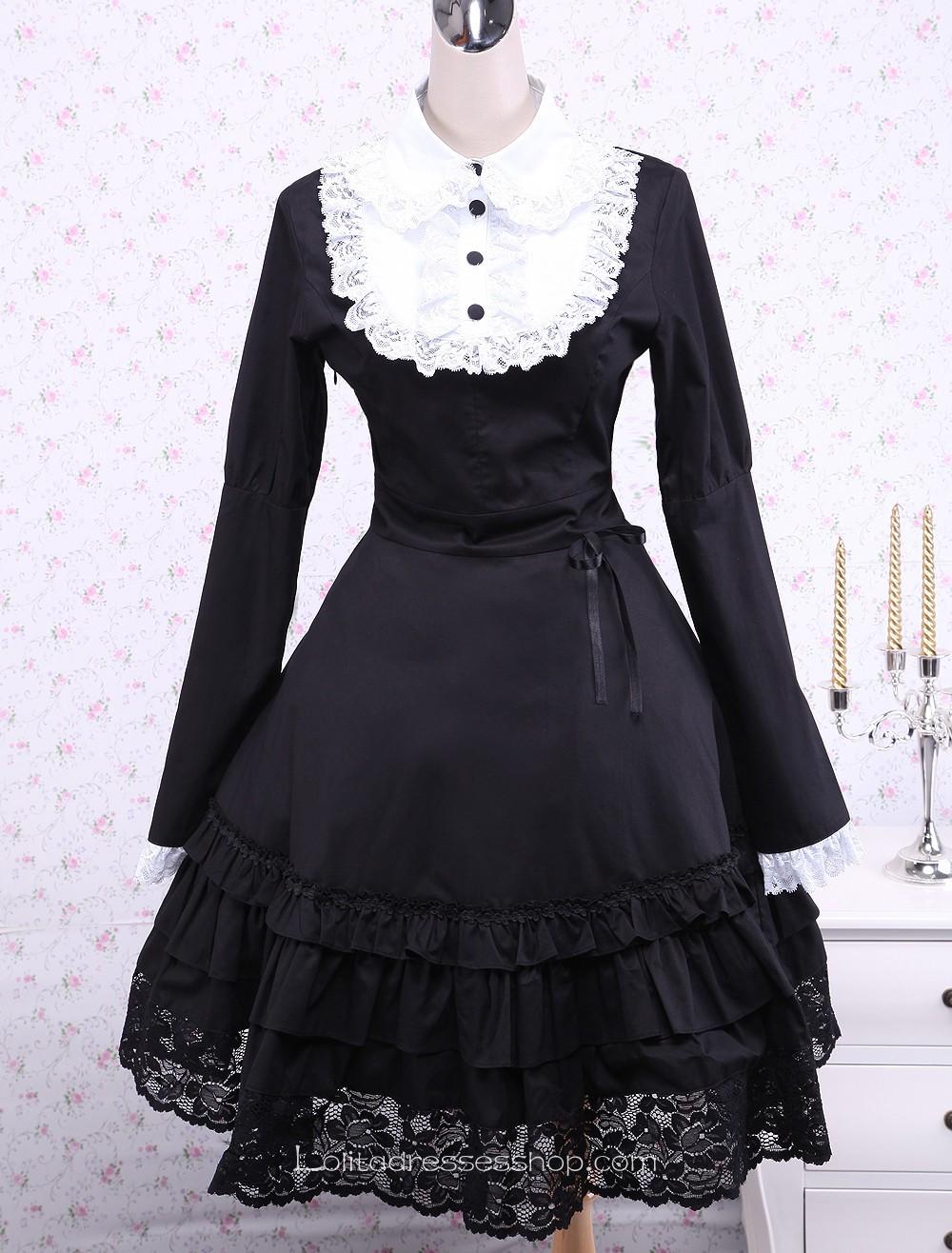 Gothic Black Dresses