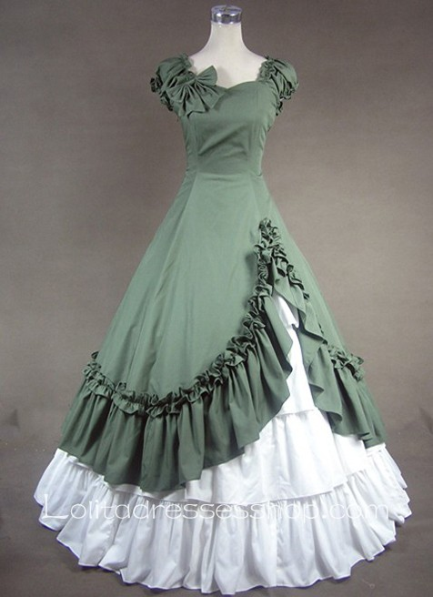 Ruffled Bow Decoration Gothic Victorian