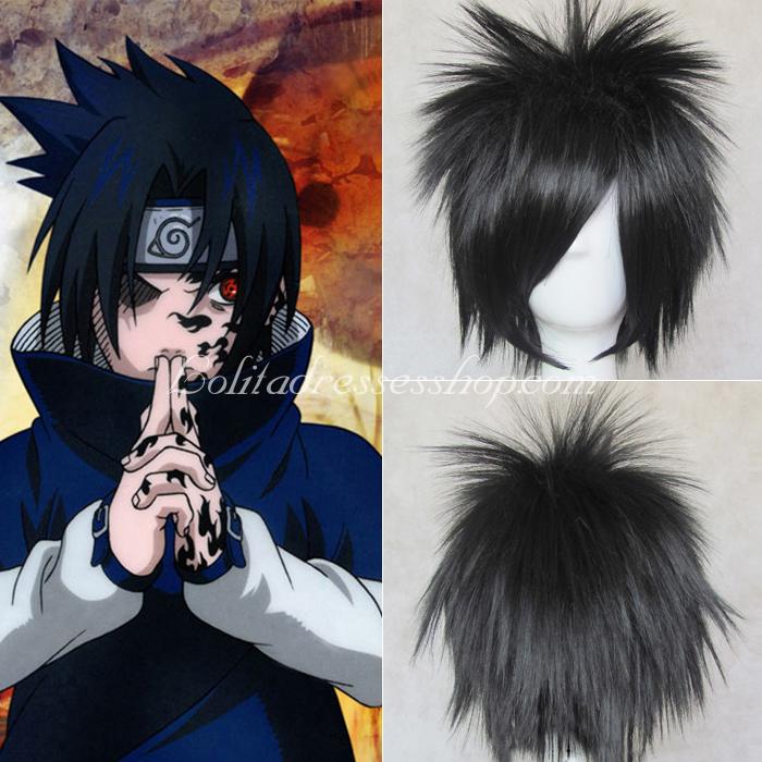 Sasuke Cosplay Wig 53