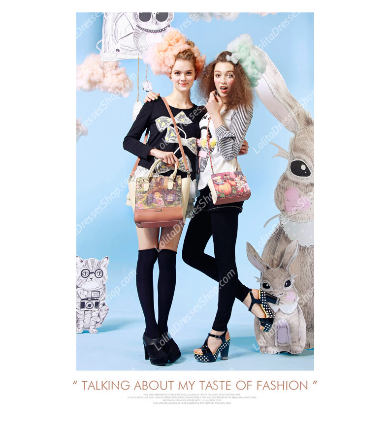 Fashion Vintage Lovely Rabbit Sweet Fairy Tale Lolita Bags