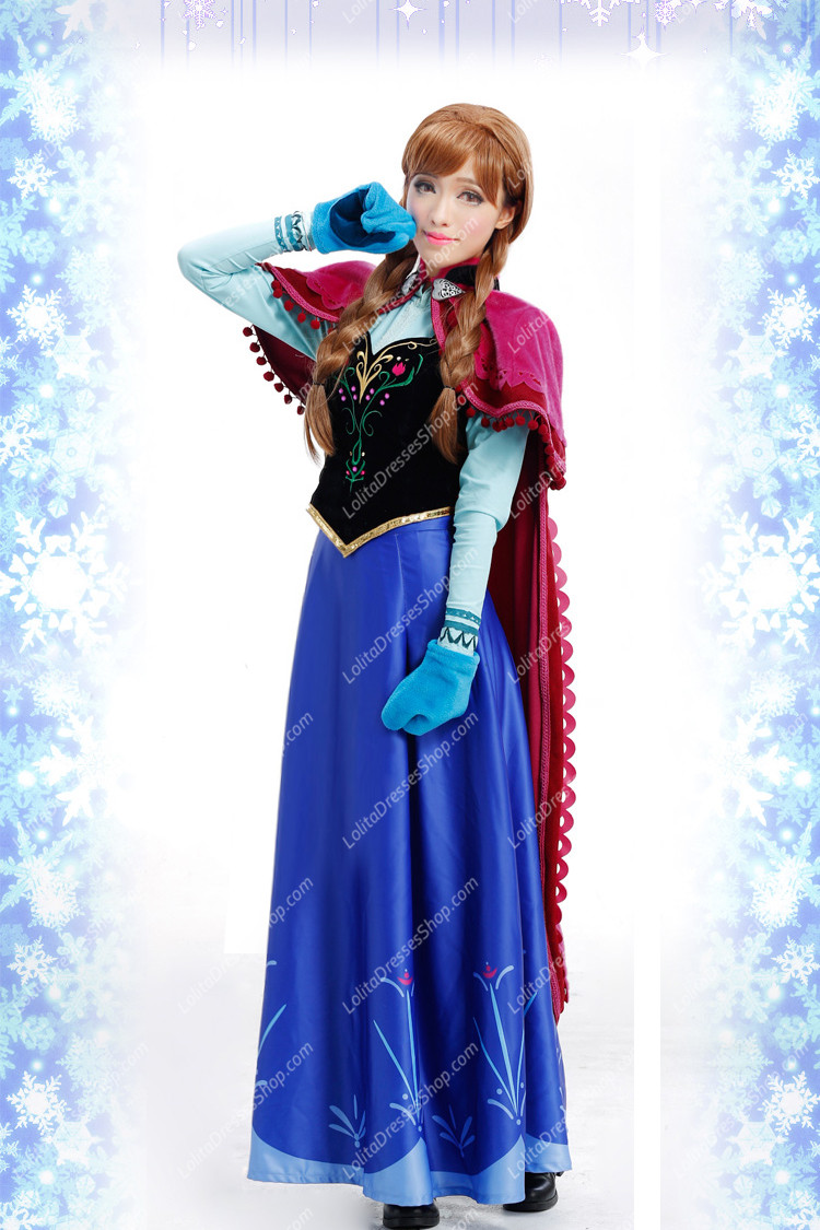 Cheap Frozen (Disney Movie) Cosplay Anna Costume Outfit Sale At Lolita Dresses Online Shop  sc 1 st  Lolita Dresses & Cheap Frozen (Disney Movie) Cosplay Anna Costume Outfit Sale At ...