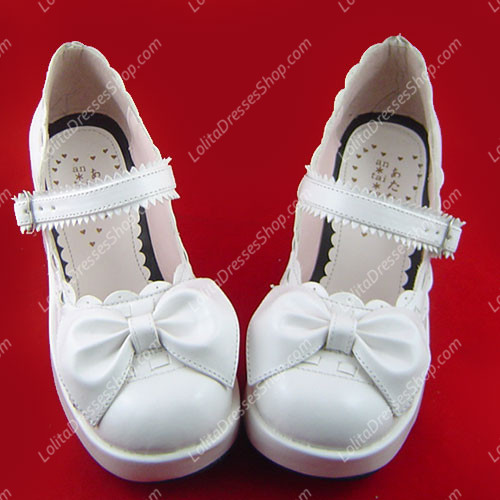 Latest Girls Wedge Heel PU Princess Sweet Lolita Shoes