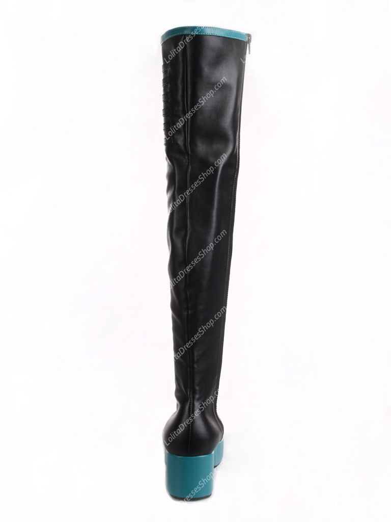 Hatsune Miku Long Cosplay Boots