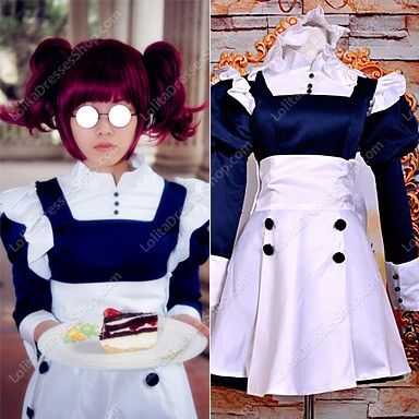 Mey-Rin Short VER.Maid Suit Cosplay Costume