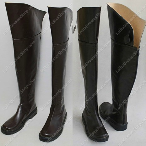 Attack On Titan Cosplay Boots Style One
