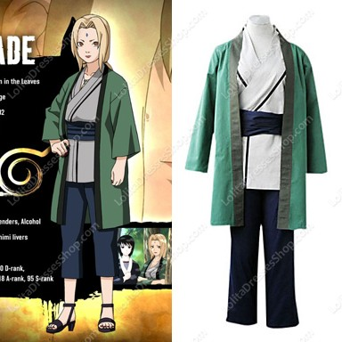 Lady tsunade cosplay costume