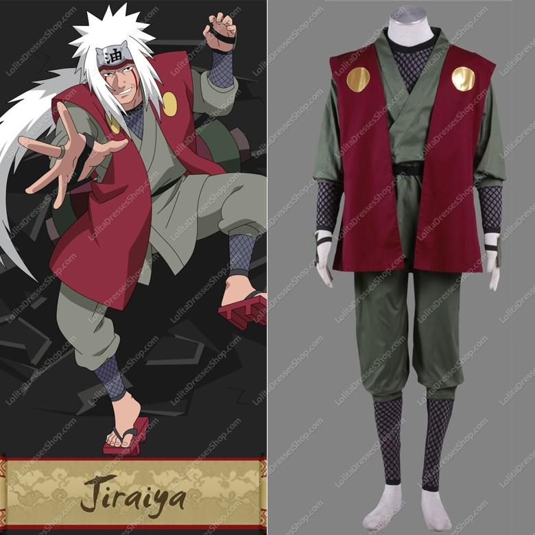 Cheap Naruto Jiraiya Cosplay Costume Sale At Lolita Dresses Online Shop