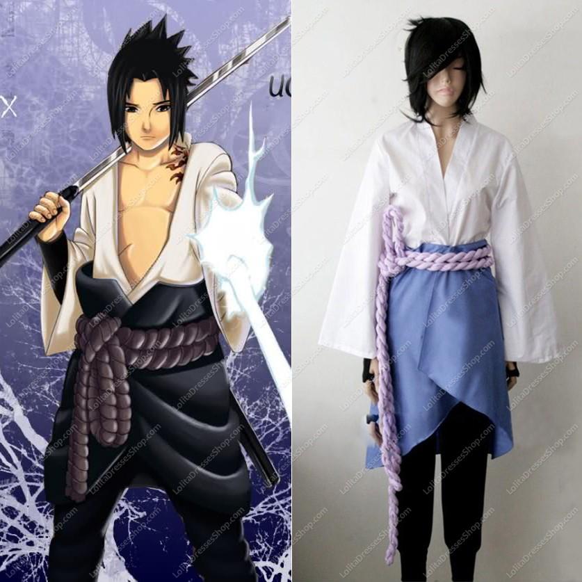 Cheap Naruto Shippuden Sasuke Uchiha Cosplay Costume Sale At