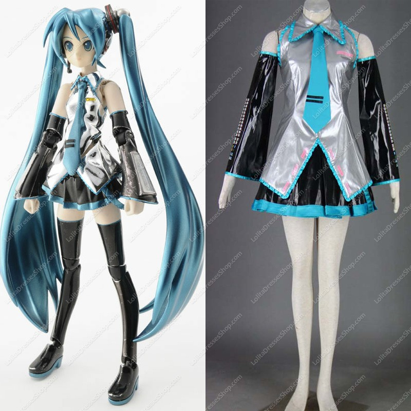 Vocaloid Super alloy Hatsune Miku Cosplay Costume