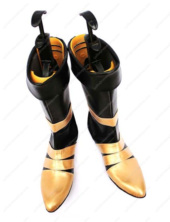 Final Fantasy VII Vincent Imitated Leather Cosplay Shoes