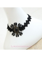 Lolita Fashion Black Lace Necklace