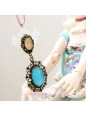 Lolita Lovely Princess Style Fashion Wild Retro Sweater Chain