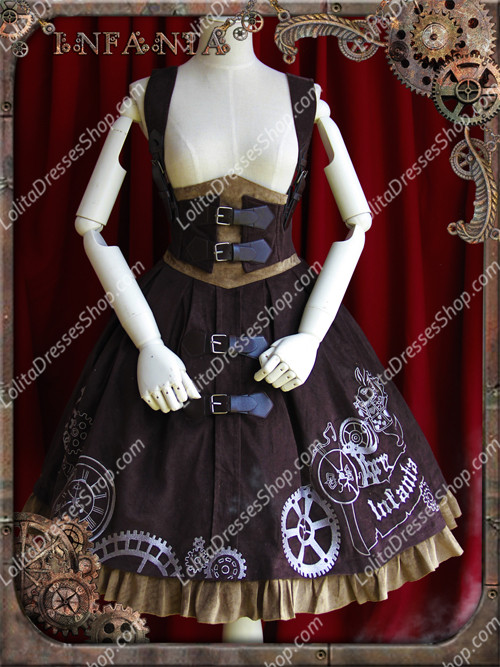Sweet Cotten Infanta JSK Lolita Supporting breast skirt