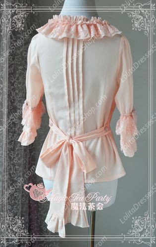 Sweet Magic Tea Party JK Floral Knot Lolita Blouse