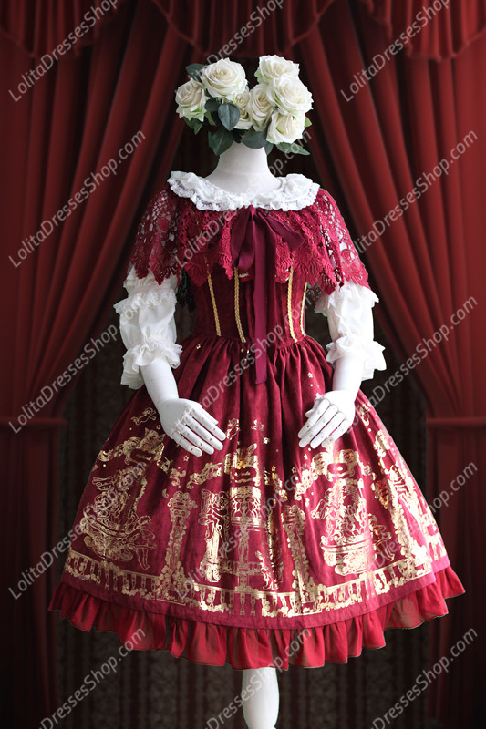 Sweet Cotten Angel Courtyard Infanta Lolita JSK