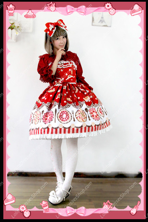 Sweet Cotten Sleeveless Infanta Lolita JSK