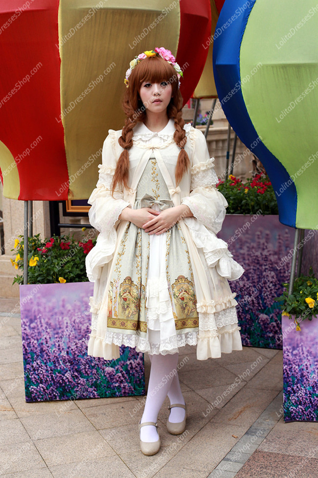 Sweet Cotten Original Print Souffle Song Lolita JSK