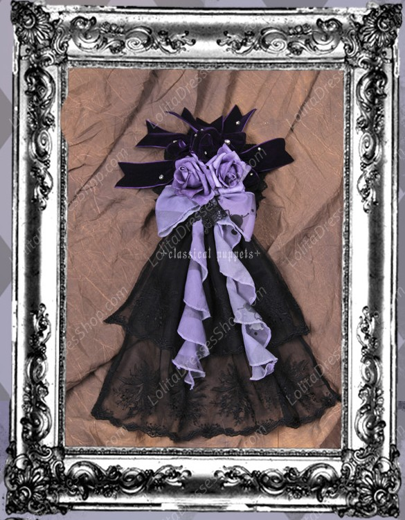 Sweet Butterfly Dance Classical Puppets Lolita Headwear