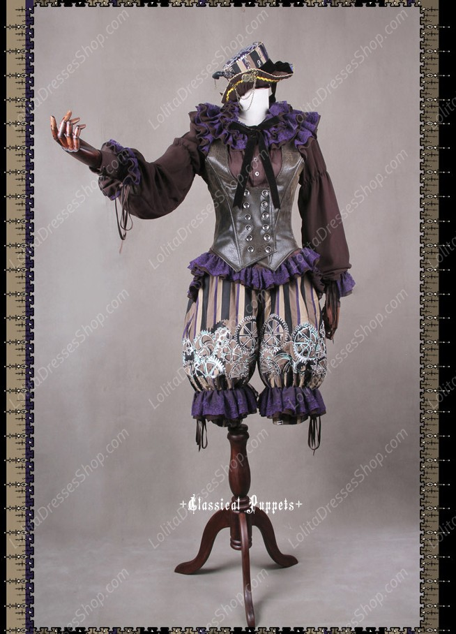 Sweet Steam Band Classical Puppets Lolita Suit