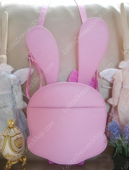 Cute Rabbit PU Lolita Inclined Bag