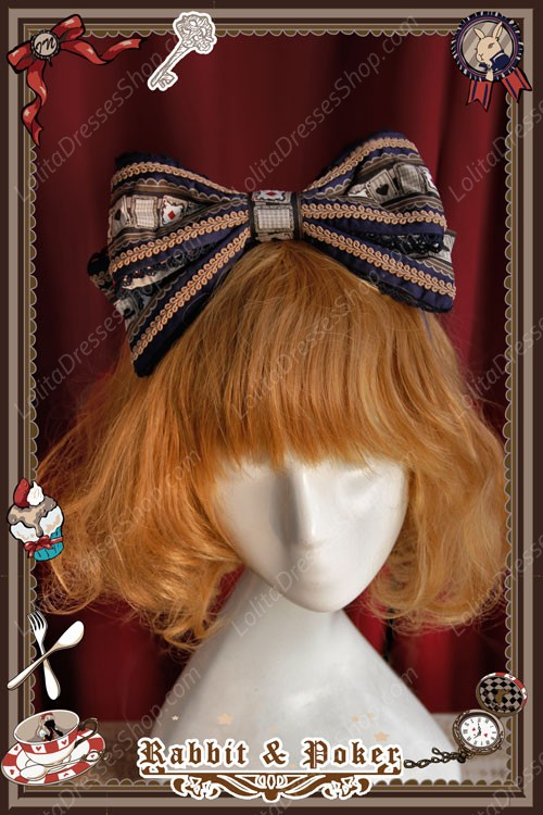 Sweet Cotten Rabbit Poker Infanta Lolita KC