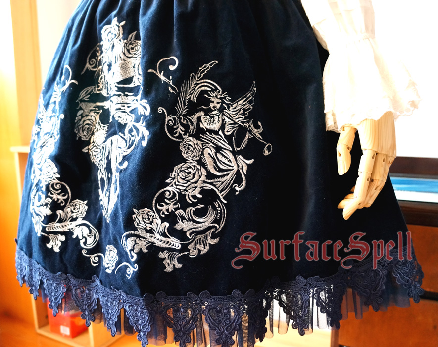 Judgment Day Original Embroidery Surface Spell Gothic Lolita JSK