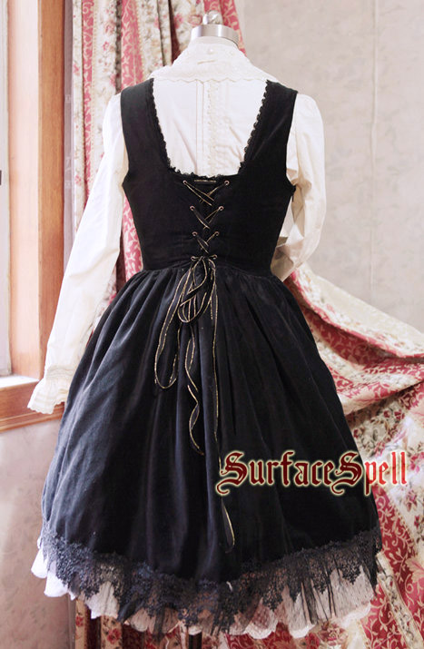 Judgment Day Original Embroidery Breast Care Surface Spell Gothic Lolita Dress