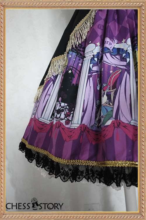 Sweet Cotton Doll Theater Corset Design Chess Story Lolita Jumper Dress