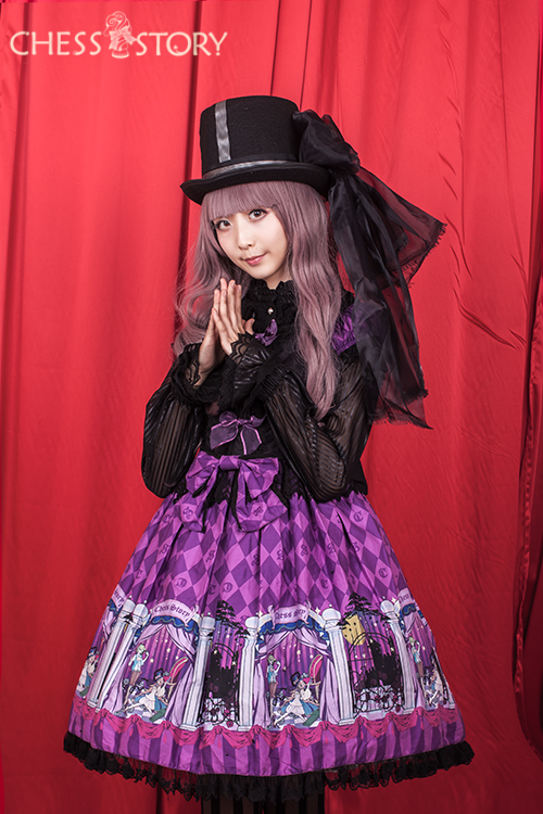 Sweet Cotton Doll Theater Series Chess Story Lolita OP Dress