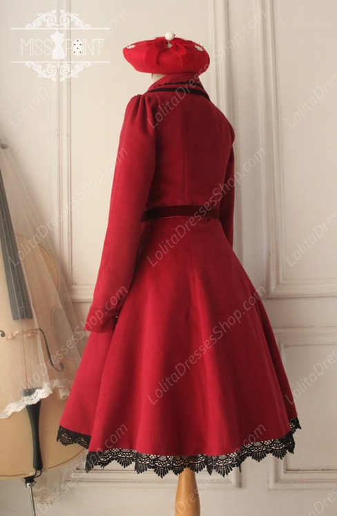 Sweet Woolen Countess Vintage Elegant Cloak Coat Lolita Suit