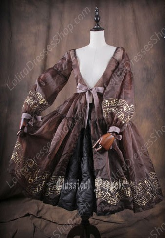 WINTER IS COMING A Line Classical Puppets Long Cotton-padded Jacked Petticoat Outside