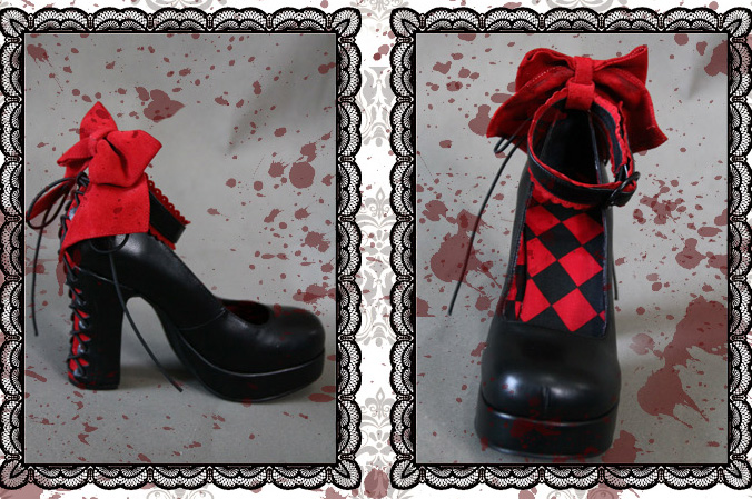 Theater Theme Elegant Classical Puppets Lolita Shoes