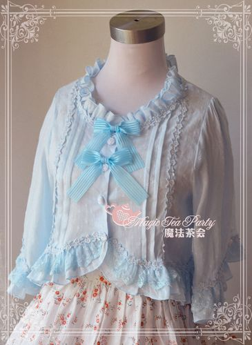Flowers Language Magic Tea Party Lolita Coat