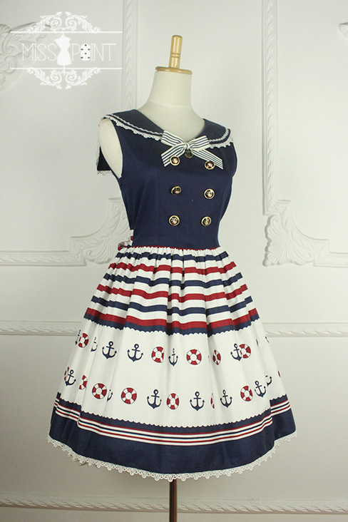 Sailor Style Miss Point Lolita JSK OR OP