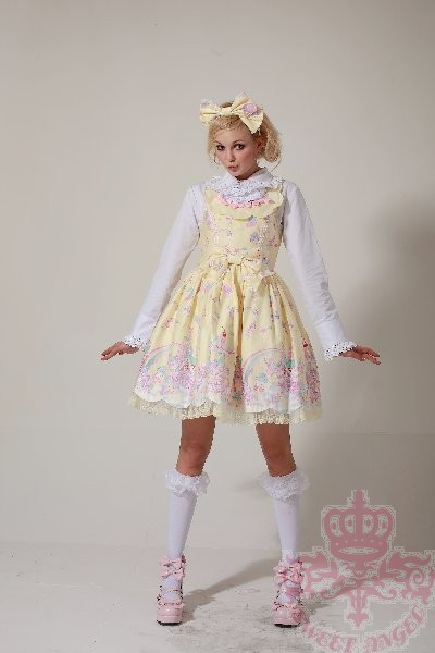 Sweet Dream of Lolita Milky Planet Lolita JSK Version I