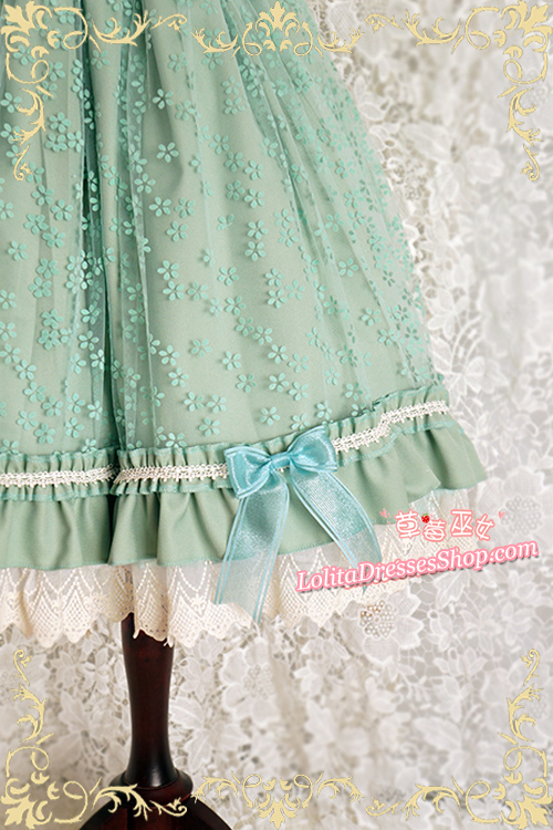 Latouchea fokiensis Franch Strawberry Witch Lolita Skirt