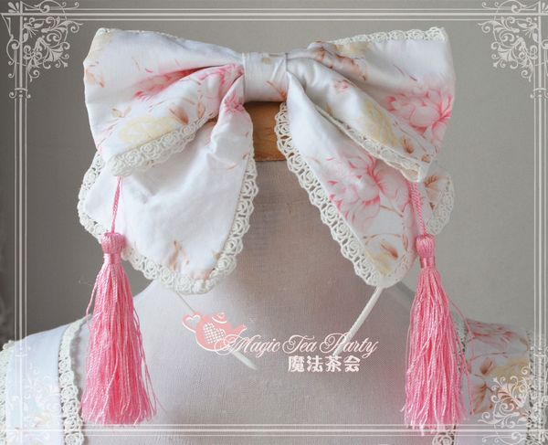 Autumn Sakura Magic Tea Party Lolita Headbow