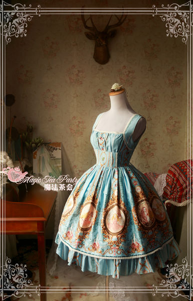 Spring of Europa Magic Tea Party Lolita JSK