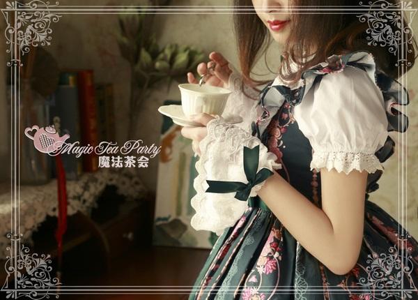 Flower fairy Magic Tea Party Lolita Match Headbow